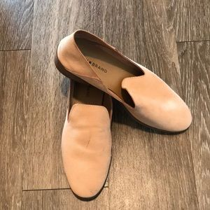Lucky Brand pastel pink loafers shoes size 10